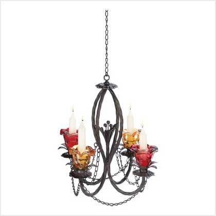 39045 Parisian Candle Chandelier