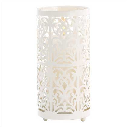 39064 Floral Candle Holder