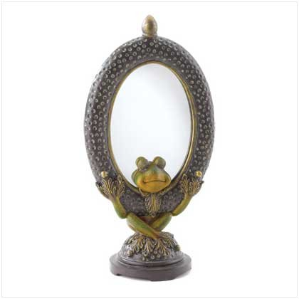 38454 Friendly Frog Mirror