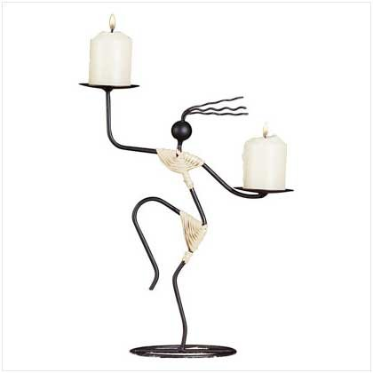29624 Tribal Dancer Candleholder