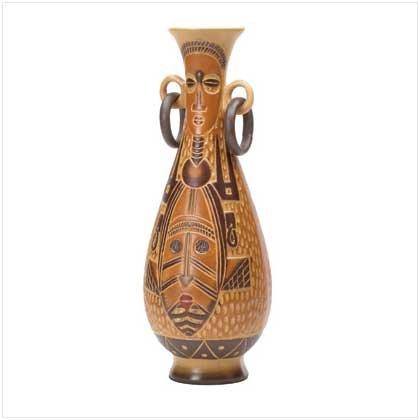 37595 Aboriginal Pattern Vase