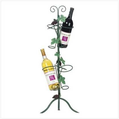 35664 Grapevine Wine Bottle Holder