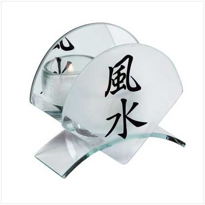 30790 �Feng Shui� Candleholder