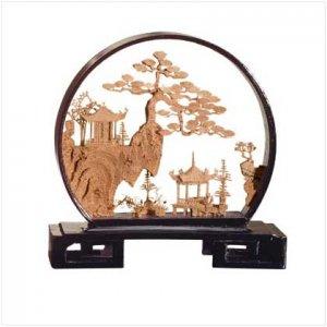 21340 Asian Temple Sculpture