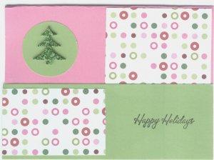 Pink/Green Christmas