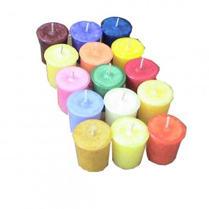 Truly Scented Candle Votive Pure Chocolate