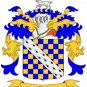 Ward Coat of Arms in Cross Stitch