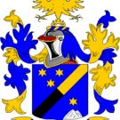 Schmidt Coat of Arms in Cross Stitch