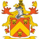 Parker Coat of Arms in Cross Stitch