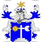 Martin Coat of Arms in Cross Stitch