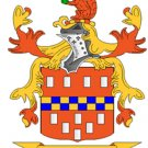 Lee Coat of Arms in Cross Stitch