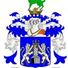 Kelly Coat of Arms in Cross Stitch