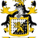 Jones Coat of Arms in Cross Stitch
