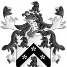 Jackson Coat of Arms in Cross Stitch