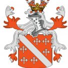 Howard Coat of Arms in Cross Stitch