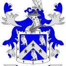 Hill Coat of Arms in Cross Stitch