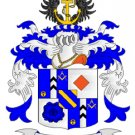 Erickson Coat of Arms in Cross Stitch