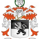Edwards Coat of Arms in Cross Stitch