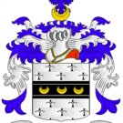 Bristow Coat of Arms in Cross Stitch