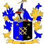 Bailey Coat of Arms in Cross Stitch