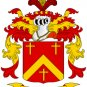 Austin Coat of Arms in Cross Stitch Chart Size is W 180 x H 224