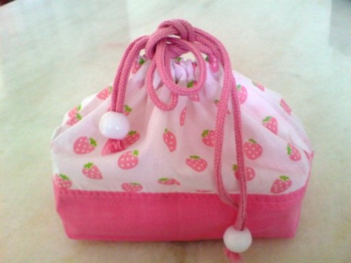 Strawberry Lunch Pouch
