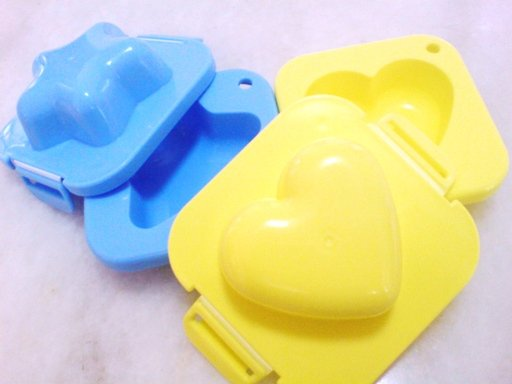 Star and Heart Egg Mould