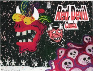 RED DEVIL COMIX (Signed by Artist)