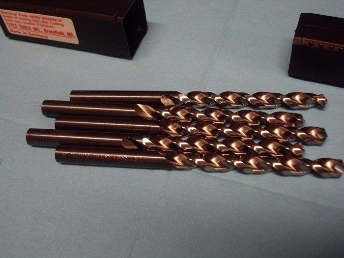 New Old Stock TITEX PLUS Jobber Drill Letter Size K 3 Packs of 5