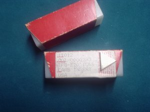 TPG 320 C-5 Grade Carbide Inserts Lot Of 18 Pieces