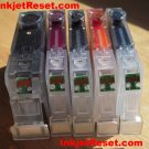IP4500 MX850 - 5 reset OEM Canon Chips Cli-8 cyan, black, magenta, yellow & Pgi-5 black