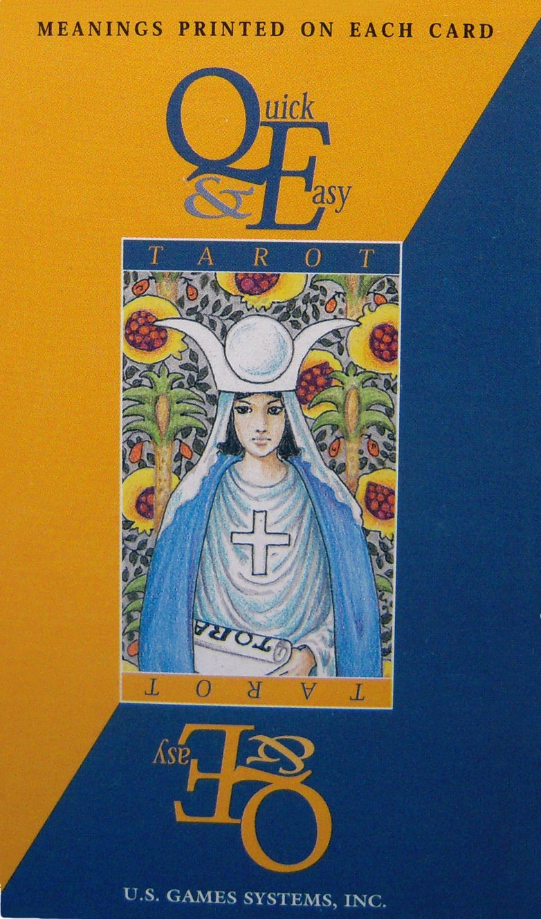 Quick & Easy Rider Waite Tarot Deck Meanings On Cards NEW