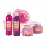 Red Pomegranite Bath Set