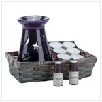 Celestial Oil Warmer Set
