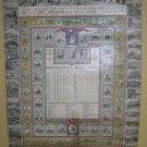 Presidential Wall Almanac 1923/1924