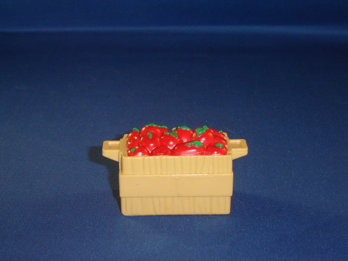 Fisher Price Little People Apple Crate Basket FP LP