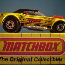 Die Cast Matchbox Superfast series Racing Toyman Dodge Challenger in yellow c. 1975