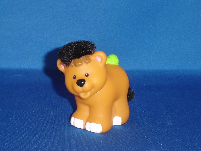 Fisher Price Little People Touch And Feel Hyena Newer FP LP