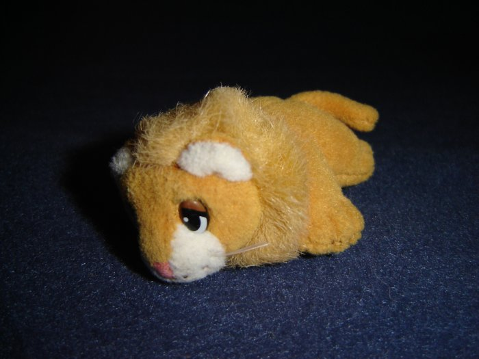 1995 Pound Puppy Puppies Mini Miniature Lion From Galoob 3 Inches