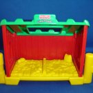 Fisher Price Little People Animal Nest Stable Manger for Farm or Barn Newer FP LP