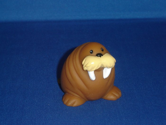 2007 Fisher Price Little People Brown Walrus Animal For Zoo Newer FP LP