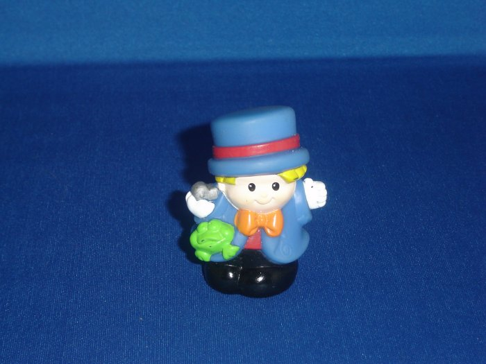 1998 Fisher Price Little People Circus Ringmaster Eddie Newer FP LP