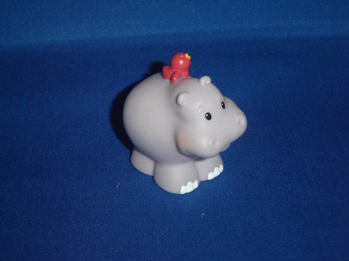 2002 Fisher Price Little People Hippo Animals For Ark Newer FP LP