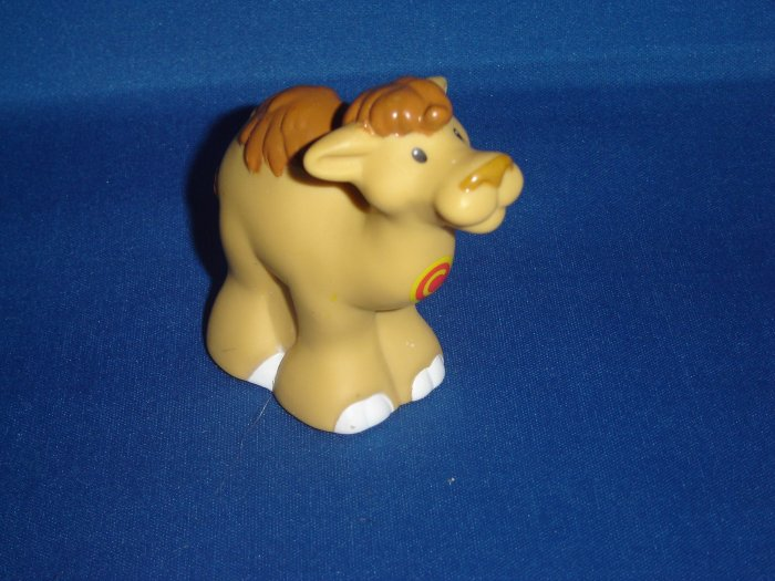2004 Fisher Price Little People Alphabet ABC Zoo Brown Yellow C Camel Newer FP LP