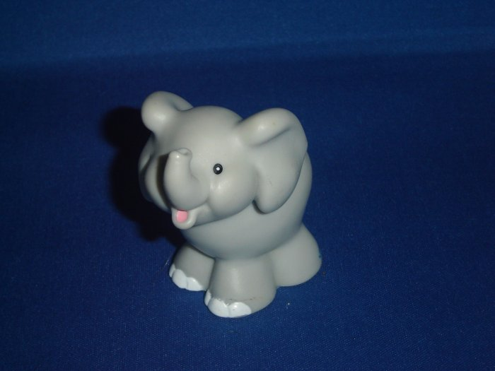 2001 Fisher Price Little People Elephant For Zoo or Ark Newer FP LP