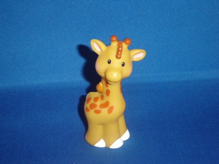 2003 Fisher Price Little People Giraffe For Zoo or Ark Newer FP LP