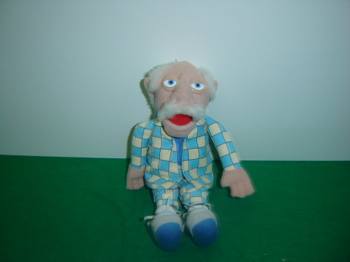 Jim Henson Company Plush Muppets WALDORF Doll Figure By Sababa Toys 10 Inches