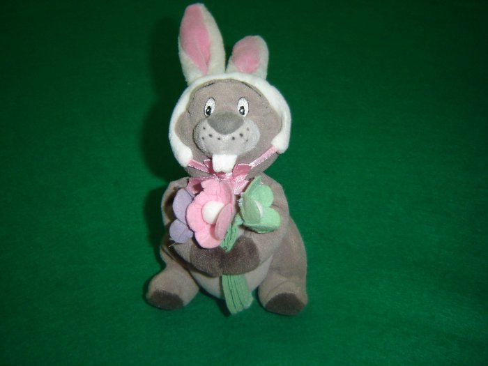 Retired The Disney Store Gopher Easter Bunny From Winnie The Pooh Plush Stuffed Animal Beanie