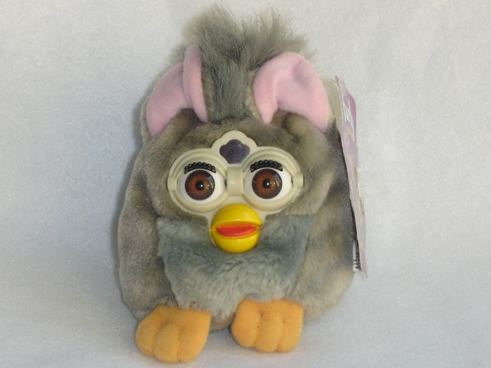 New With Tags Furby Buddies English Name More Happy 1999 Plush Beanie Toy By Tiger Electronics