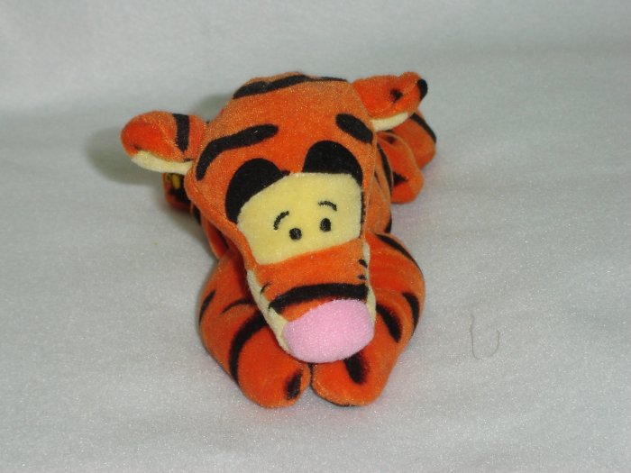 Disney Store Exclusive Plush Winnie The Poohs Tigger Beanie Toy Doll Figure 8 Inches